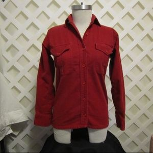 LADIES  FLANNEL SHIRT by LL BEAN Size 10